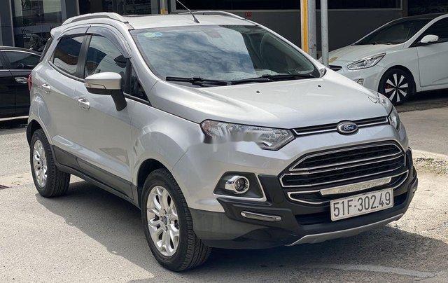 Cần bán gấp Ford EcoSport 2015, màu bạc chính chủ1