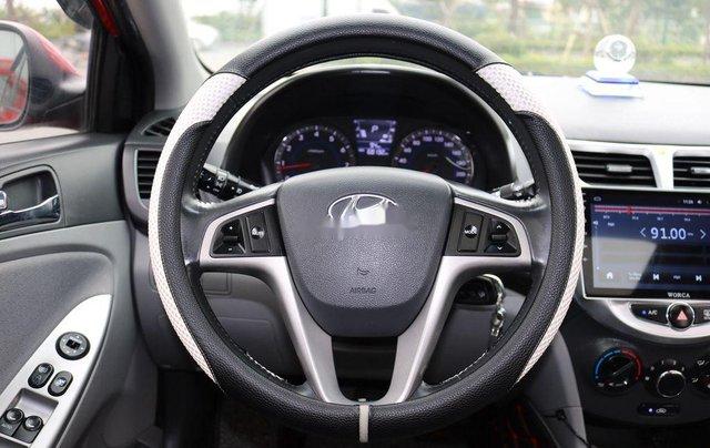 Bán Hyundai Accent 2013, màu đỏ, nhập khẩu7