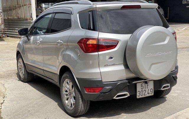 Cần bán gấp Ford EcoSport 2015, màu bạc chính chủ4
