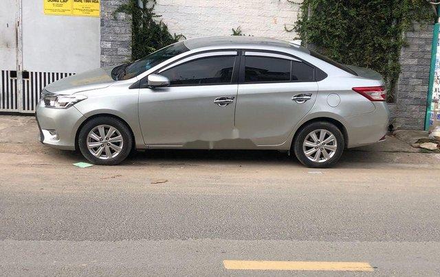 Bán Toyota Vios sản xuất 2016, màu bạc còn mới3