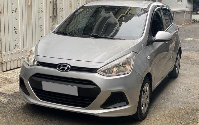 Mình cần bán Hyundai I10 2016, số sàn màu bạc nhập Ấn0