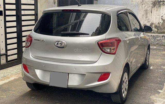 Mình cần bán Hyundai I10 2016, số sàn màu bạc nhập Ấn2