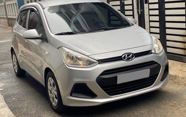 Mình cần bán Hyundai I10 2016, số sàn màu bạc nhập Ấn6