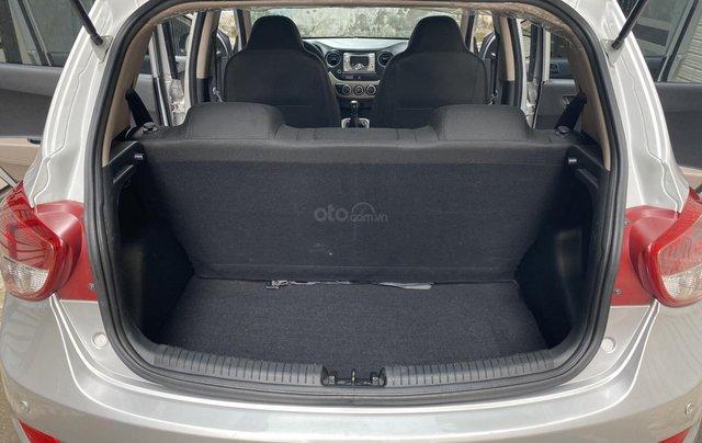Mình cần bán Hyundai I10 2016, số sàn màu bạc nhập Ấn11