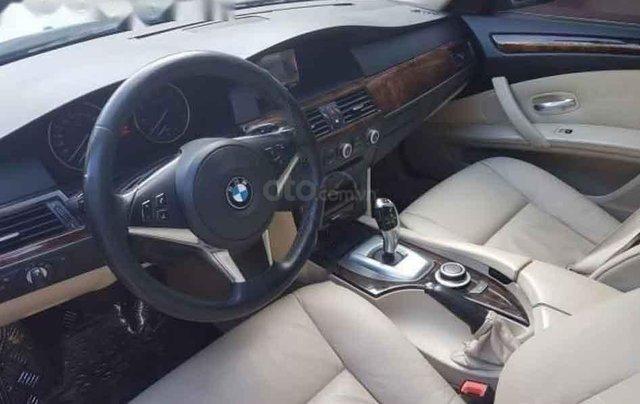 Cần bán gấp BMW 5 Series 530i 2007, màu bạc1