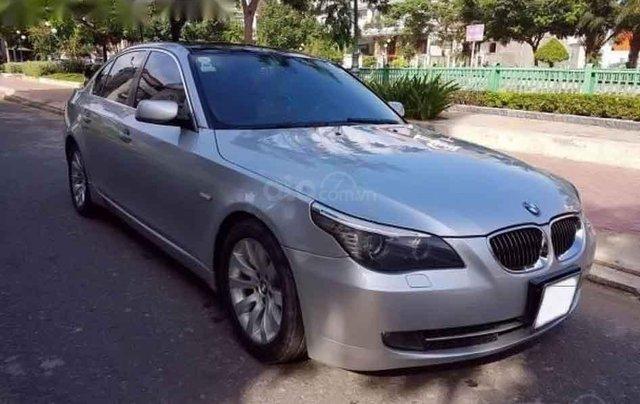 Cần bán gấp BMW 5 Series 530i 2007, màu bạc0