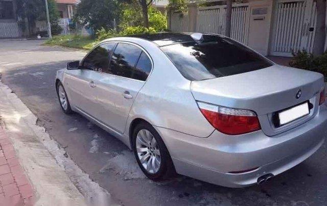 Cần bán gấp BMW 5 Series 530i 2007, màu bạc3