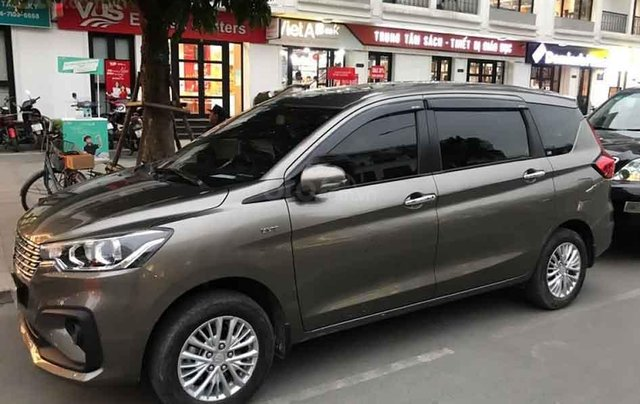 Cần bán lại xe Suzuki Ertiga 1.5 GLX - 2019, màu nâu2