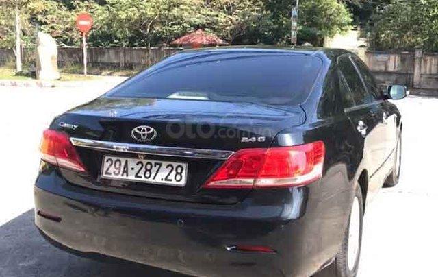 Cần bán gấp Toyota Camry đời 2011, màu đen chính chủ4