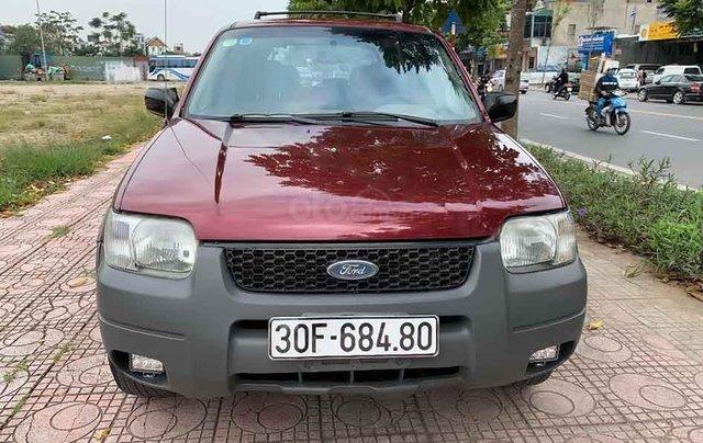 Bán ô tô Ford Escape năm sản xuất 2004, màu đỏ chính chủ3