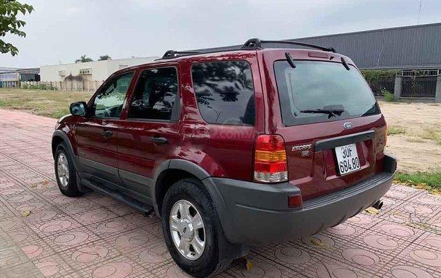Bán ô tô Ford Escape năm sản xuất 2004, màu đỏ chính chủ0