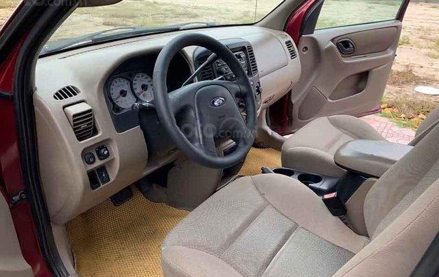 Bán ô tô Ford Escape năm sản xuất 2004, màu đỏ chính chủ4