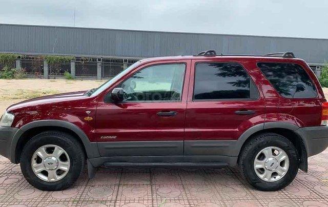 Bán ô tô Ford Escape năm sản xuất 2004, màu đỏ chính chủ2
