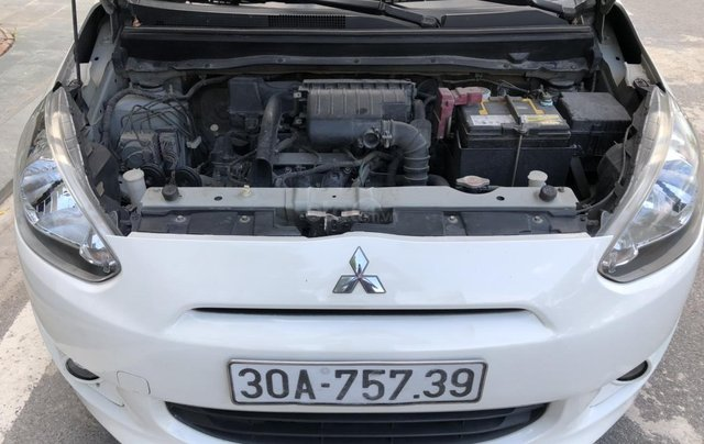 Cần bán xe Mitsubishi Mirange SX 2015, màu trắng2