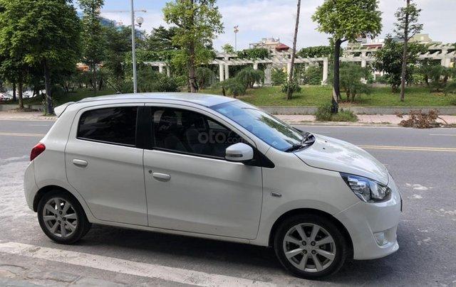 Cần bán xe Mitsubishi Mirange SX 2015, màu trắng3