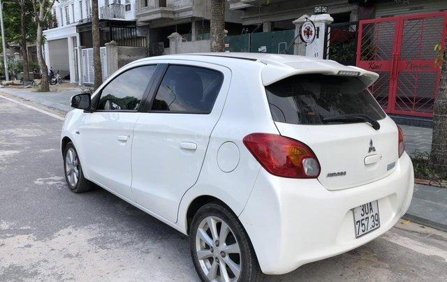Cần bán xe Mitsubishi Mirange SX 2015, màu trắng5