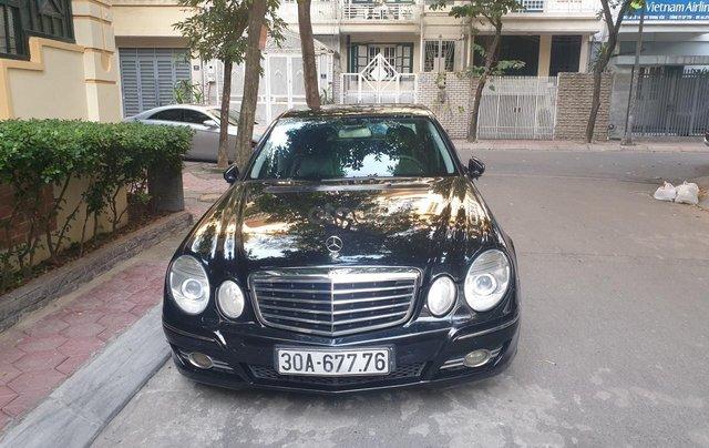 Em bán xe Mercedes E200 SX và ĐK 2008, màu đen1