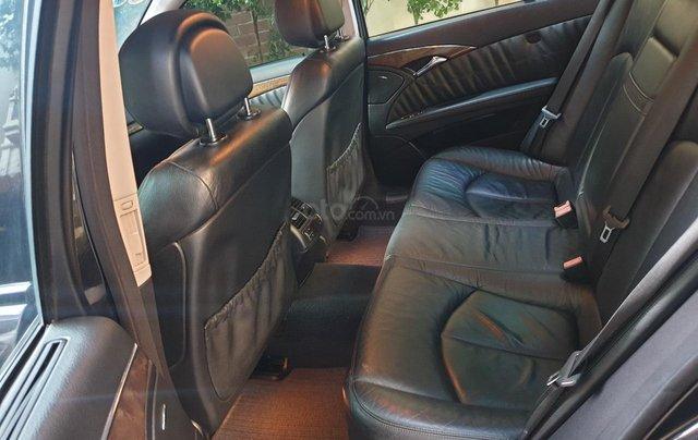 Em bán xe Mercedes E200 SX và ĐK 2008, màu đen11