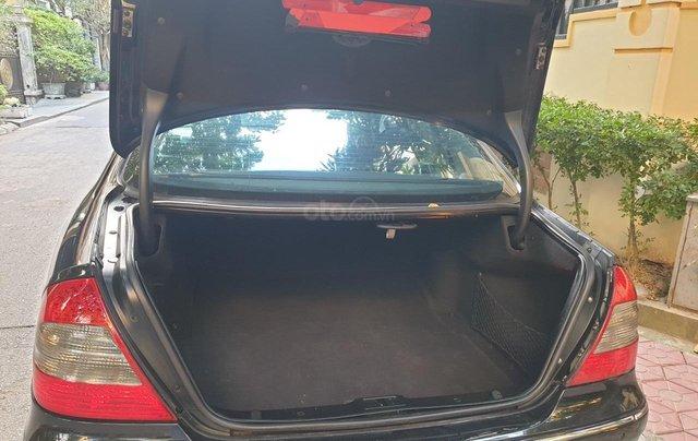 Em bán xe Mercedes E200 SX và ĐK 2008, màu đen5
