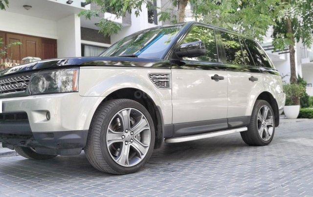 Range Rover Supper Charged 2009, nhập khẩu1