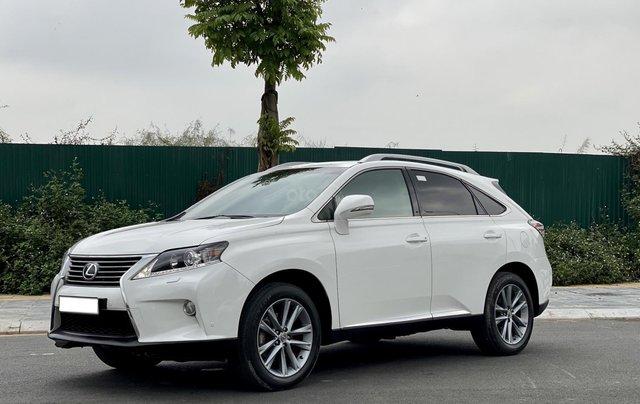 Lexus RX350 sản xuất 2014, màu trắng, xe nhập0