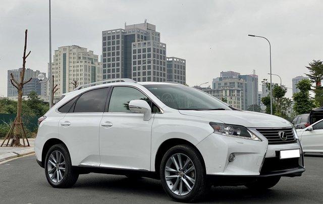 Lexus RX350 sản xuất 2014, màu trắng, xe nhập1
