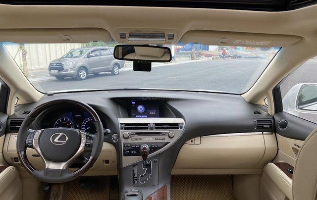Lexus RX350 sản xuất 2014, màu trắng, xe nhập3