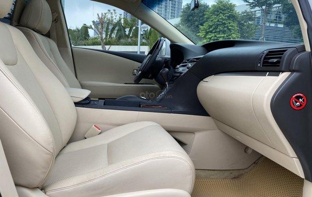 Lexus RX350 sản xuất 2014, màu trắng, xe nhập4