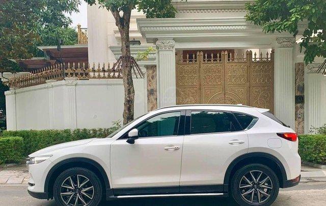 Bán xe Mazda CX5 2.0 1 cầu màu trắng, SX 20173