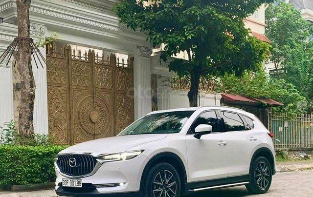 Bán xe Mazda CX5 2.0 1 cầu màu trắng, SX 20171