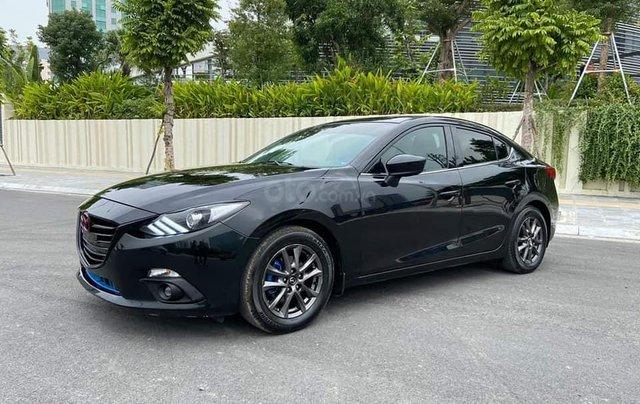 Mazda 3 Sedan 1.5AT sản xuất 2015 màu đen, nội thất đen1