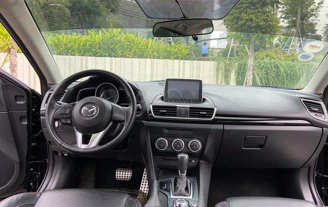 Mazda 3 Sedan 1.5AT sản xuất 2015 màu đen, nội thất đen5