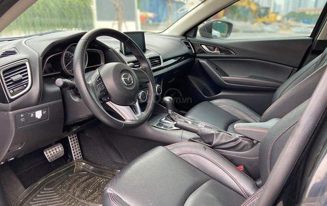 Mazda 3 Sedan 1.5AT sản xuất 2015 màu đen, nội thất đen6