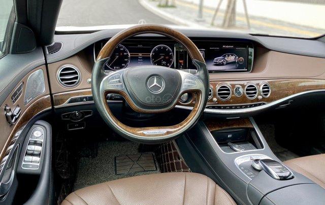 Mercedes-Benz S400 sản xuất 2015, màu trắng7