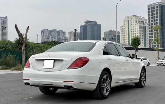 Mercedes-Benz S400 sản xuất 2015, màu trắng1