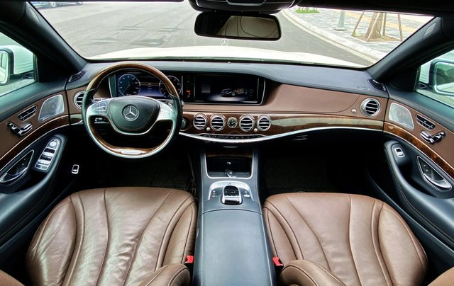 Mercedes-Benz S400 sản xuất 2015, màu trắng9