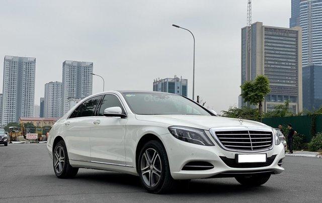Mercedes-Benz S400 sản xuất 2015, màu trắng10