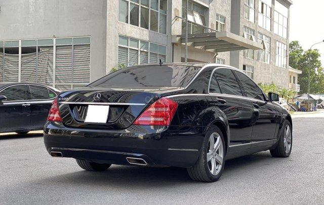 Mercedes-Benz S500L đời 2010, màu đen, xe nhập3
