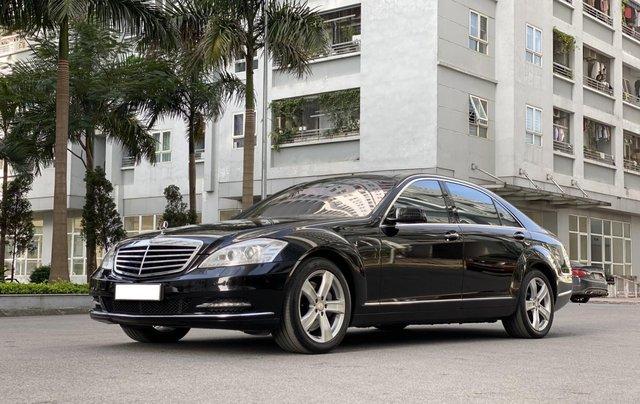 Mercedes-Benz S500L đời 2010, màu đen, xe nhập1