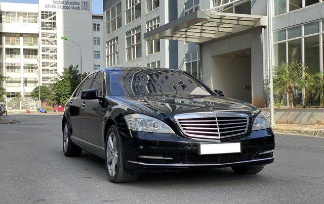 Mercedes-Benz S500L đời 2010, màu đen, xe nhập2