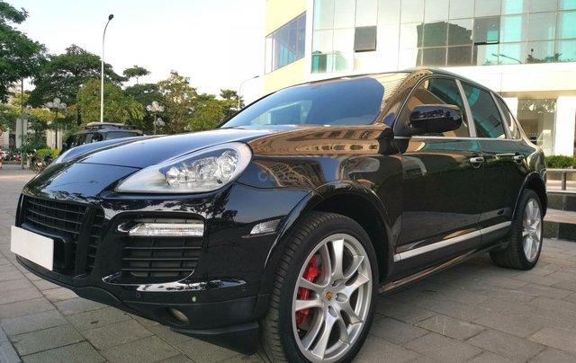 Cần bán xe Cayenne GTS 2008 màu đen, xe nhập8