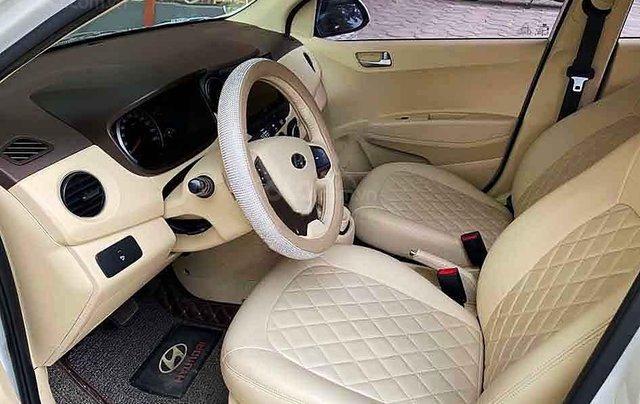 Xe Hyundai Grand i10 sản xuất năm 2016, màu trắng, nhập khẩu chính chủ, 358 triệu3