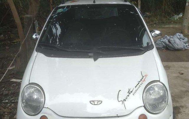 Cần bán gấp Daewoo Matiz đời 2003, màu trắng, nhập khẩu còn mới, giá chỉ 62 triệu2