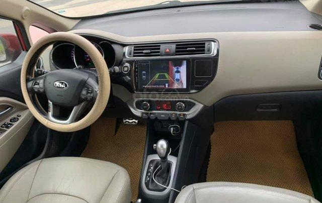 Cần bán xe Kia Rio 1.4AT SX 2015, màu đỏ5