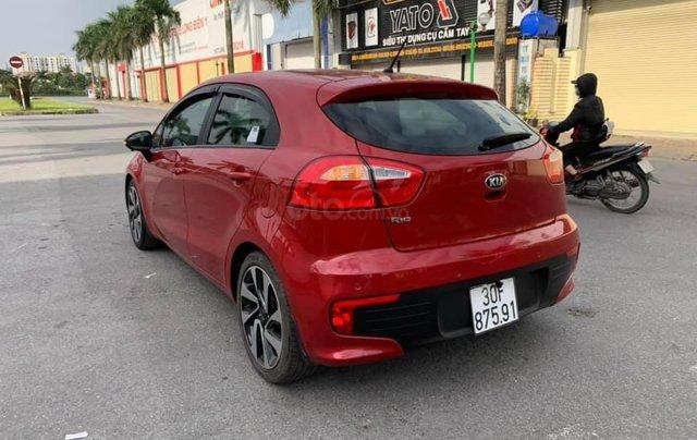 Cần bán xe Kia Rio 1.4AT SX 2015, màu đỏ3