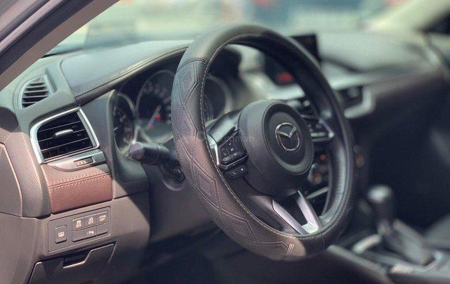 Bán xe Mazda 6 2.0 sản xuất 2017, màu xám khói, xe đẹp như mới, giá cả uy tín6