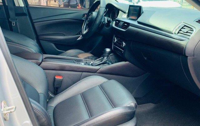 Bán xe Mazda 6 2.0 sản xuất 2017, màu xám khói, xe đẹp như mới, giá cả uy tín12