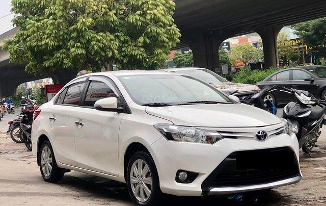 Cần bán lại Toyota Vios E 2018, màu trắng, biển thành phố, xe đẹp như mới1
