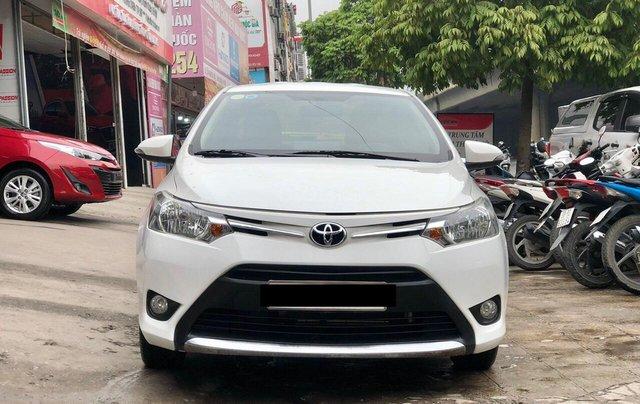 Cần bán lại Toyota Vios E 2018, màu trắng, biển thành phố, xe đẹp như mới2