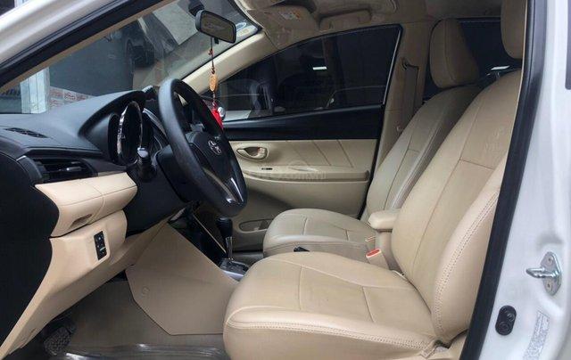 Cần bán lại Toyota Vios E 2018, màu trắng, biển thành phố, xe đẹp như mới7